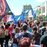 Manifestation Alès, 16 mai 2015