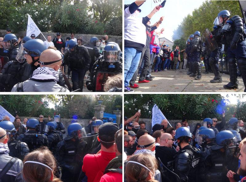 Scènes de gendarmes déboussolés