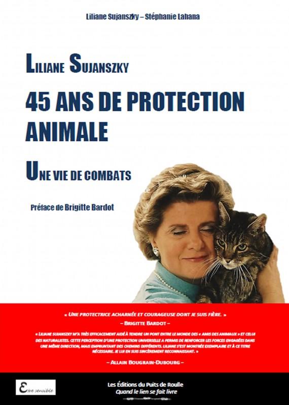 Liliane Sujanszky : 45 ans de protection animale, une vie de combats Affiche-LSSL-2000-e1453168935792