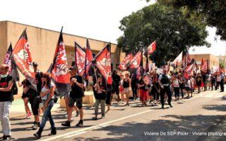 Lunel, dimanche 21 juillet 2019 : Manifestation UNITAIRE du CRAC Europe