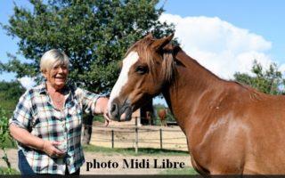 Dans le Gard, une grande dame de  la protection animale nous a quitté.